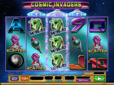 Cosmic-Invaders-Slot